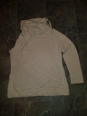 s.Oliver Shirt met capuchon licht beige