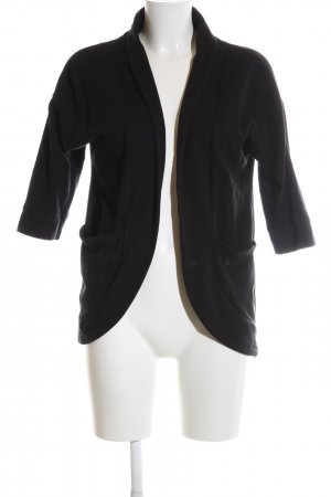 s.Oliver Sweatjacke schwarz Business-Look