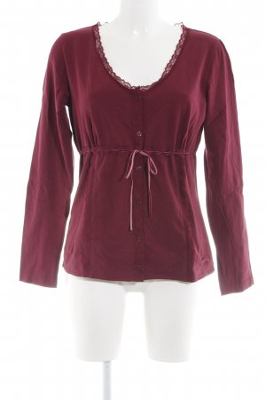 s.Oliver Sweatjack rood-roze casual uitstraling