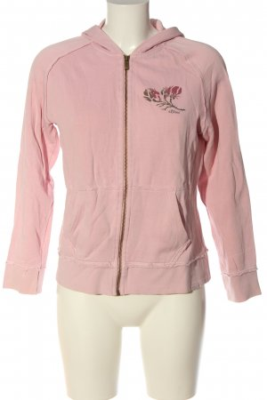 s.Oliver Sweatjacke pink abstraktes Muster Casual-Look