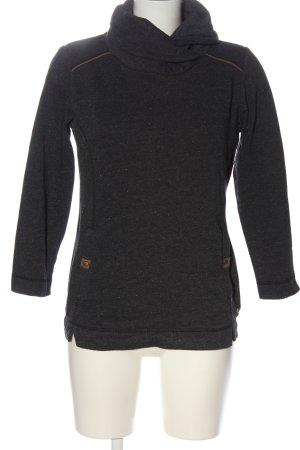 s.Oliver Sweatshirt schwarz Casual-Look
