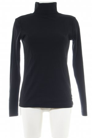 s.Oliver Sweatshirt schwarz Business-Look