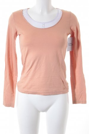 s.Oliver Sweatshirt apricot-orange Casual-Look