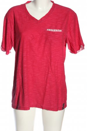 s.Oliver T-Shirt pink meliert Casual-Look