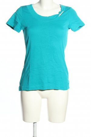 s.Oliver T-Shirt türkis Casual-Look