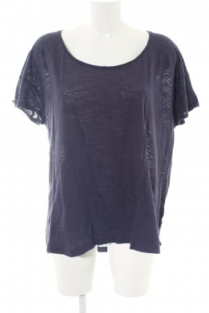 s.Oliver T-Shirt lila meliert Casual-Look