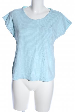 s.Oliver T-Shirt blau Streifenmuster Casual-Look
