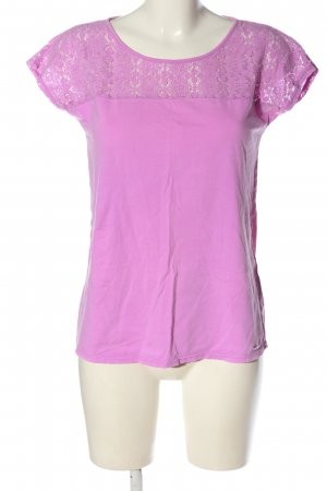 s.Oliver T-Shirt lila Elegant