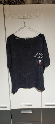 QS by s.Oliver T-shirt court gris-gris foncé