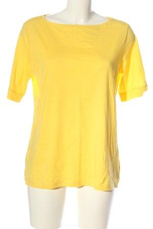 s.Oliver T-Shirt blassgelb Casual-Look