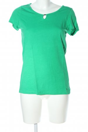 s.Oliver T-Shirt grün Casual-Look