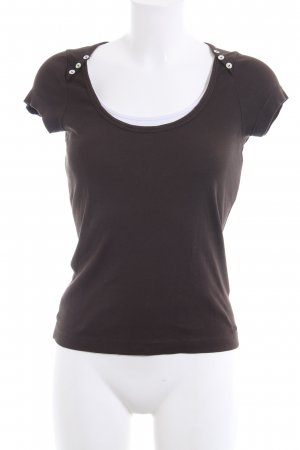 s.Oliver T-Shirt braun Casual-Look