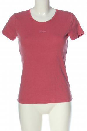 s.Oliver T-Shirt pink casual look