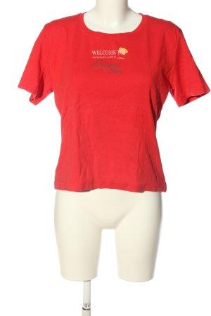 s.Oliver T-Shirt Schriftzug gedruckt