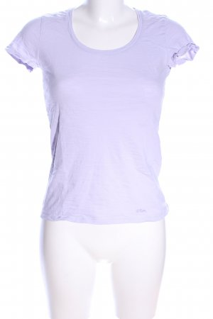 s.Oliver T-Shirt lila Casual-Look