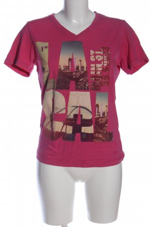 s.Oliver T-Shirt Motivdruck Casual-Look