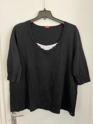 S.Oliver T-Shirt Gr.52/54 schwarz