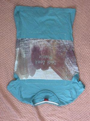 s.Oliver Lang shirt turkoois