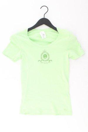 s.Oliver T-Shirt Größe 36 Kurzarm grün aus Baumwolle
