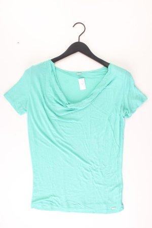 s.Oliver T-Shirt Größe 36 Kurzarm türkis aus Viskose