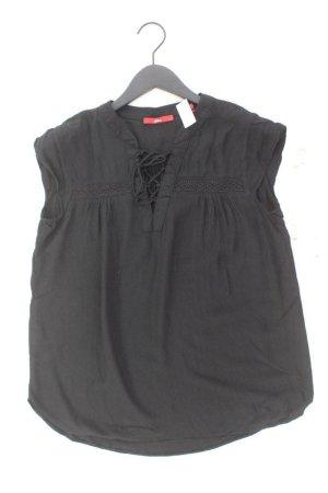 s.Oliver T-Shirt Größe 38 Kurzarm schwarz aus Viskose