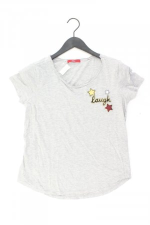s.Oliver T-Shirt Größe S Kurzarm grau