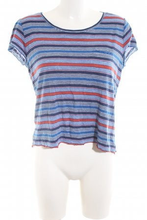 s.Oliver T-Shirt Streifenmuster Casual-Look
