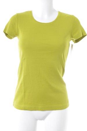 s.Oliver T-Shirt wiesengrün sportlicher Stil