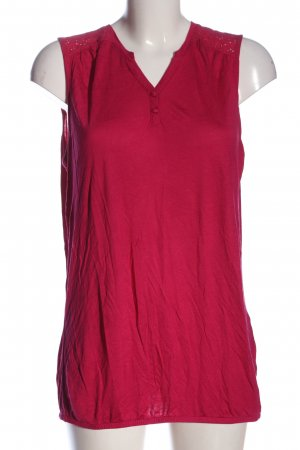 s.Oliver Tanktop roze casual uitstraling