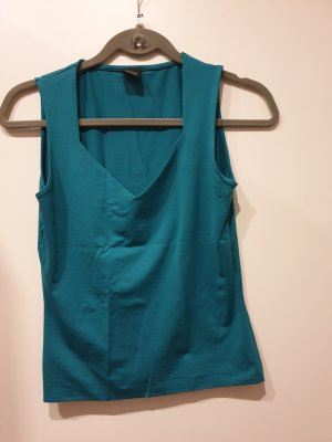Selection by s.oliver Basic topje petrol-cadet blauw