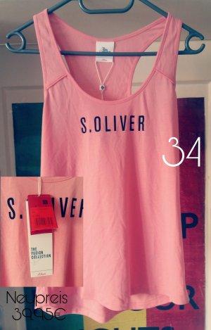S.oliver Top rosa neu