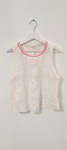 QS by s.Oliver Lace Top white-light pink
