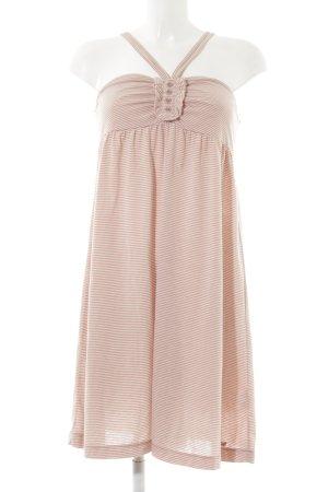 s.Oliver Trägerkleid roségoldfarben-weiß Streifenmuster Casual-Look
