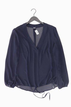 s.Oliver transparente Bluse blau Größe 46