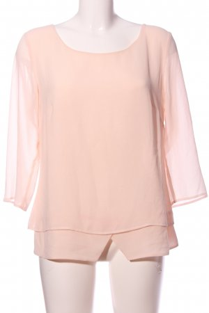 s.Oliver Transparenz-Bluse creme Casual-Look
