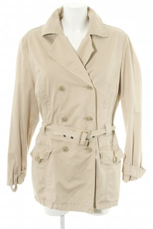 s.Oliver Trenchcoat wollweiß Casual-Look