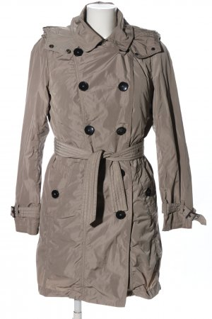 s.Oliver Trenchcoat hellgrau Casual-Look