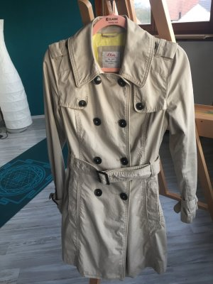 s. Oliver (QS designed) Trench Coat sand brown