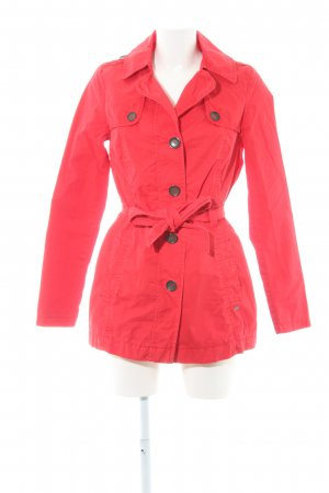 s.Oliver Trenchcoat rot Casual-Look