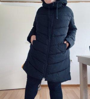 s. Oliver (QS designed) Manteau en duvet noir-orange clair