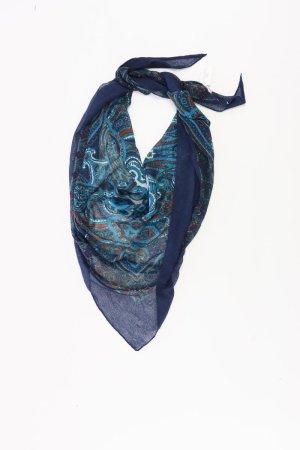 s.Oliver Sciarpa estiva blu-blu neon-blu scuro-azzurro