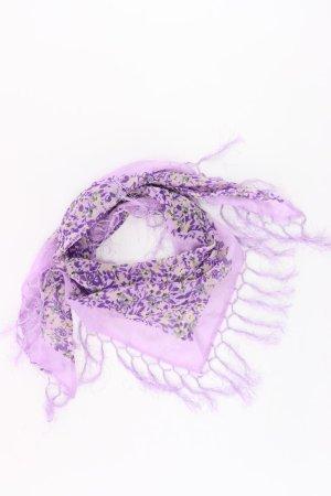 s.Oliver Summer Scarf lilac-mauve-purple-dark violet polyester