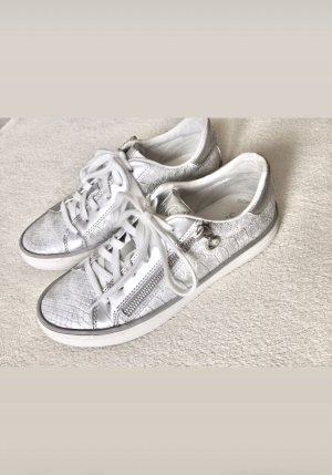 s.Oliver Turnschuh Sneaker silber Gr. 37
