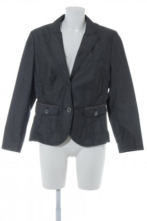 s.Oliver Tweedblazer schwarz-dunkelgrau Business-Look