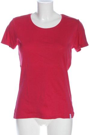 s.Oliver T-shirt czerwony W stylu casual