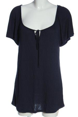 s.Oliver U-Boot-Shirt blau Casual-Look
