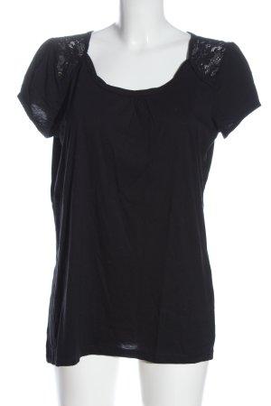 s.Oliver U-Boot-Shirt schwarz Elegant