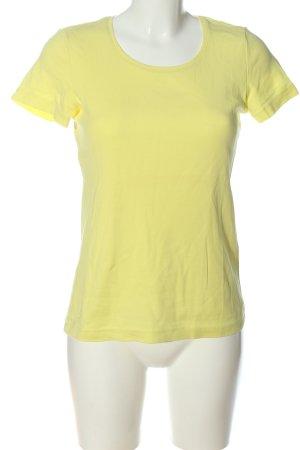 s.Oliver U-Boot-Shirt blassgelb Casual-Look