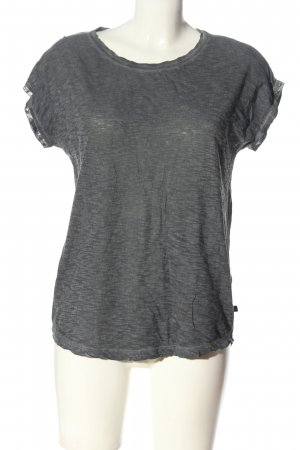 s.Oliver U-Boot-Shirt hellgrau meliert Casual-Look