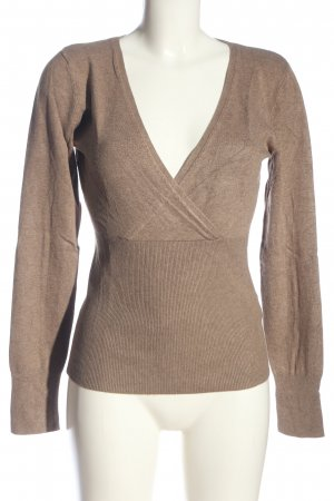 s.Oliver V-Neck Sweater nude flecked casual look